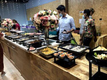 可愛い&綺麗!海辺のシーフードBBQビュッフェ「Yorlay Buffet seafood & Cafe」inジョムティエン